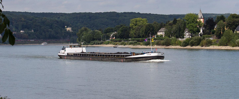 OTHENE auf dem Rhein