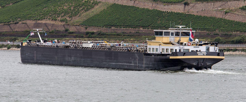 VALLESIA auf dem Rhein