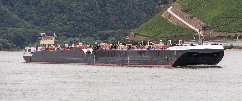 CARITAS auf dem Rhein