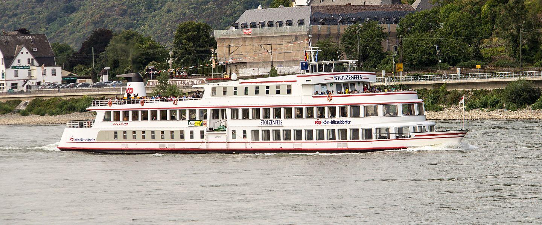 STOLZENFELS auf dem Rhein
