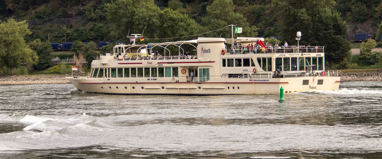 ASBACH auf dem Rhein