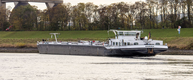 BOHEMIA auf dem Rhein
