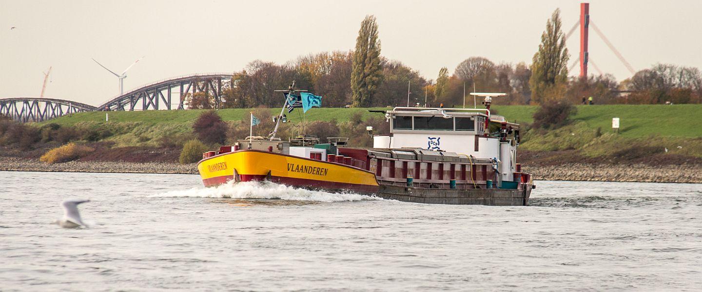 VLAANDEREN auf dem Rhein