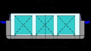 Gangbord 3 neu